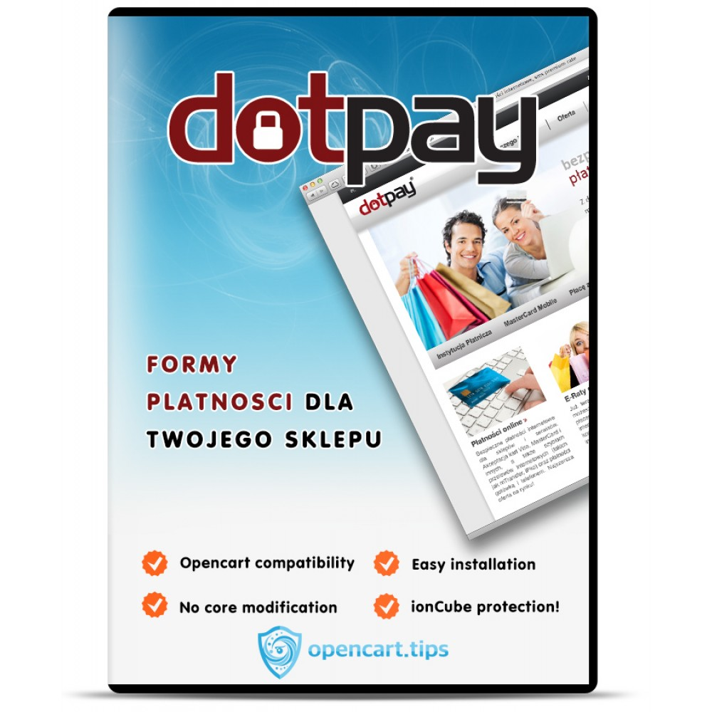 Dotpay OpenCart 3