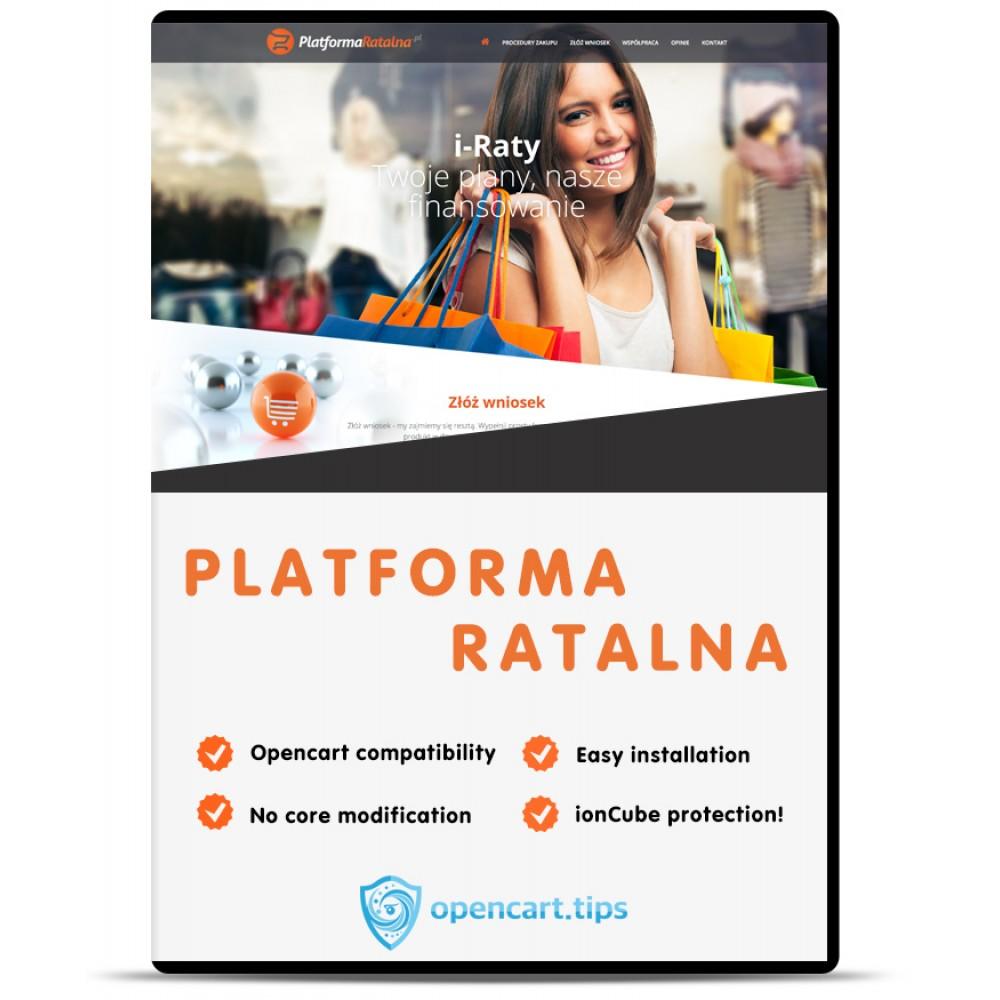 Platforma Ratalna Opencart 2