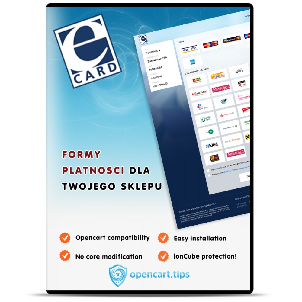 eCard Opencart 2