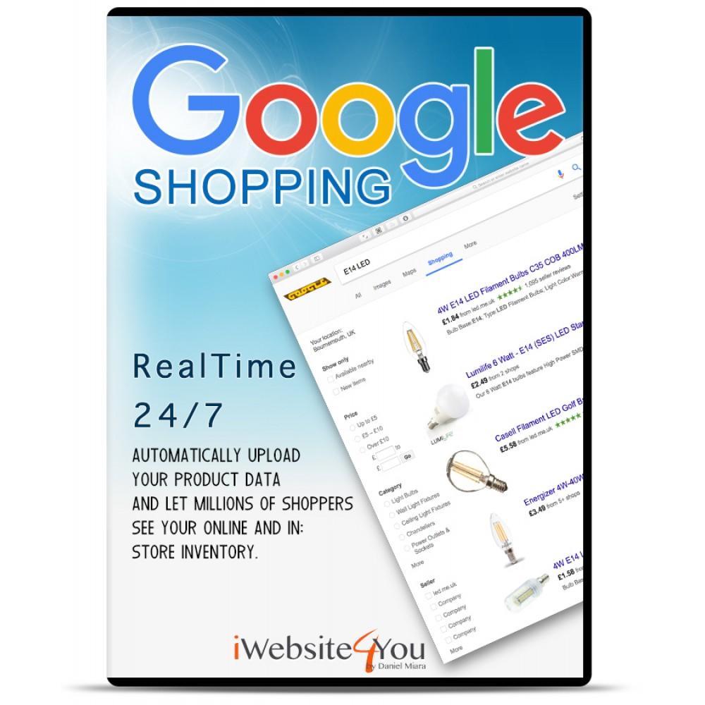 Google Merchant zakupy OpenCart 3
