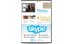 Skype Messenger Live Chat Opencart 2