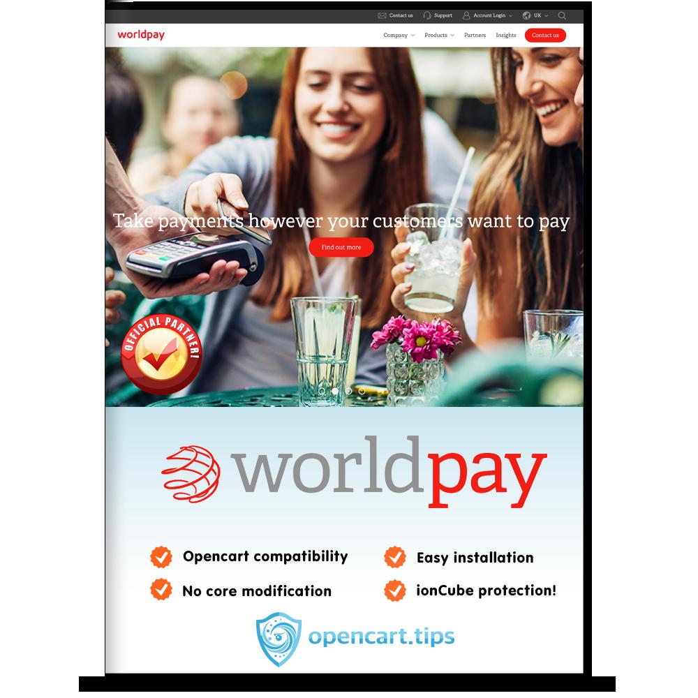 WorldPay Business Gateway Prestashop 1.7
