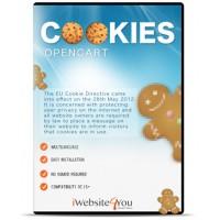 Ciasteczka Cookies Opencart