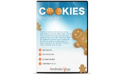 EU Cookie / Ciasteczka OpenCart 3
