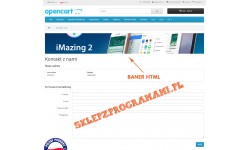 Banery HTML Opencart 2