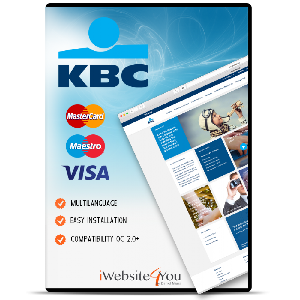 KBC Paypage Credit Card OpenCart 2