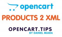 Eksport produktów do XML OpenCart 3