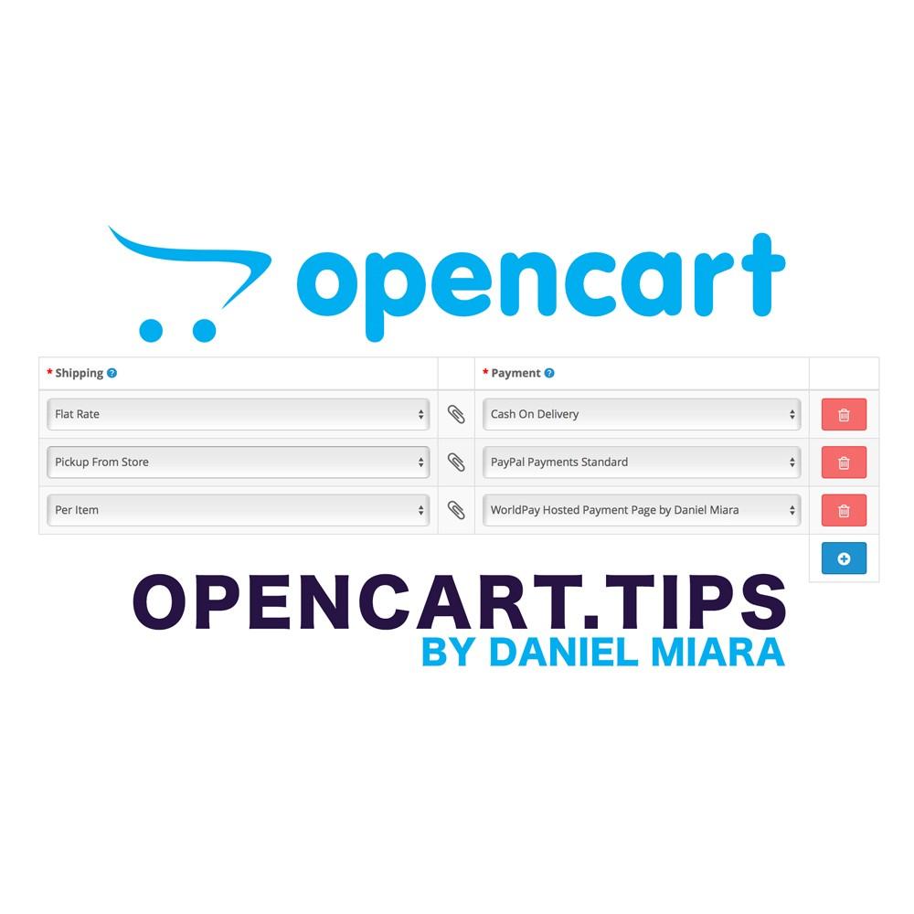Ship to Pay wysyłka do płatności Opencart 2