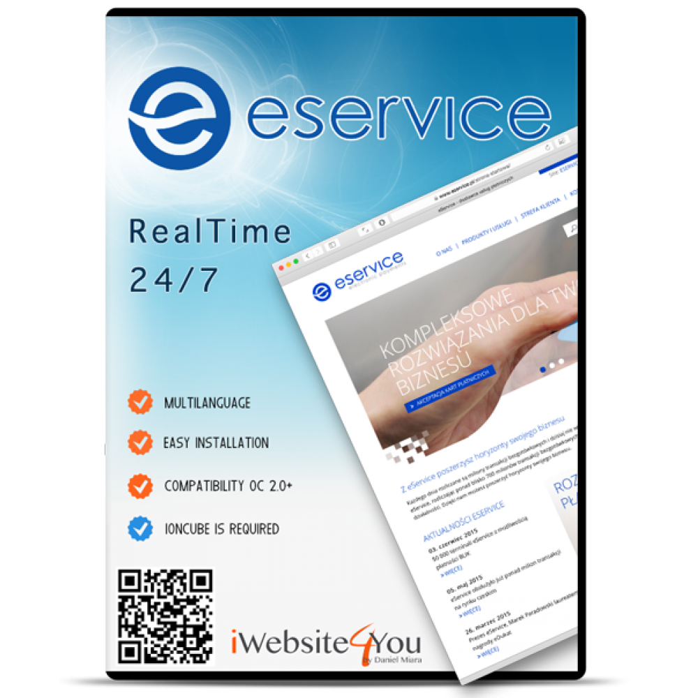 eService OpenCart 2