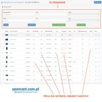 Zarządzanie produktem OpenCart