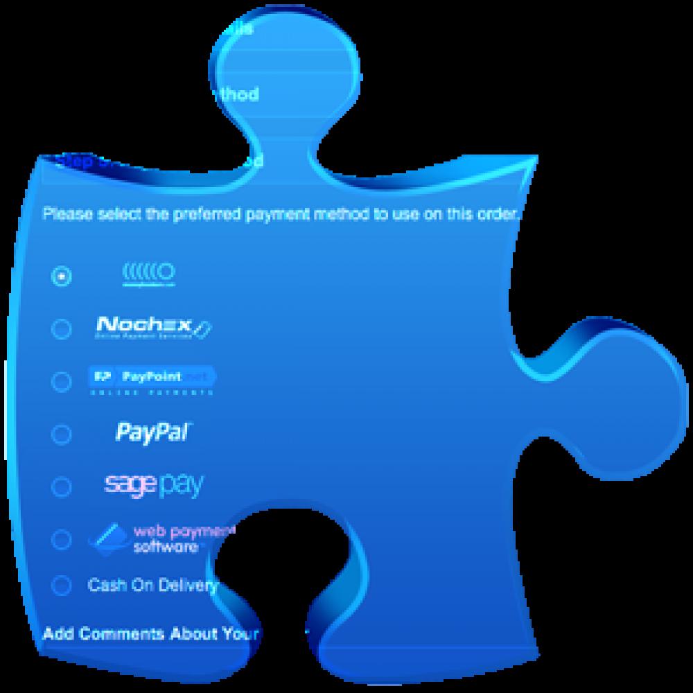 Loga płatności w koszyku OpenCart