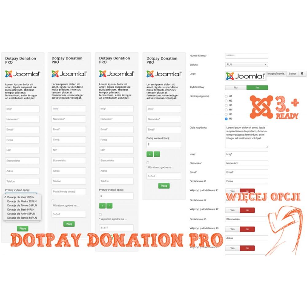 Dotpay Donation PRO Joomla
