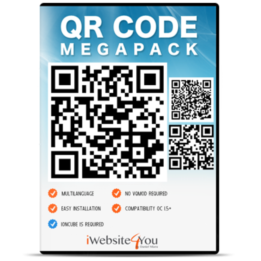 QR Code Megapack OpenCart