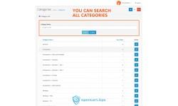 Pole szukaj do kategorii Opencart 2