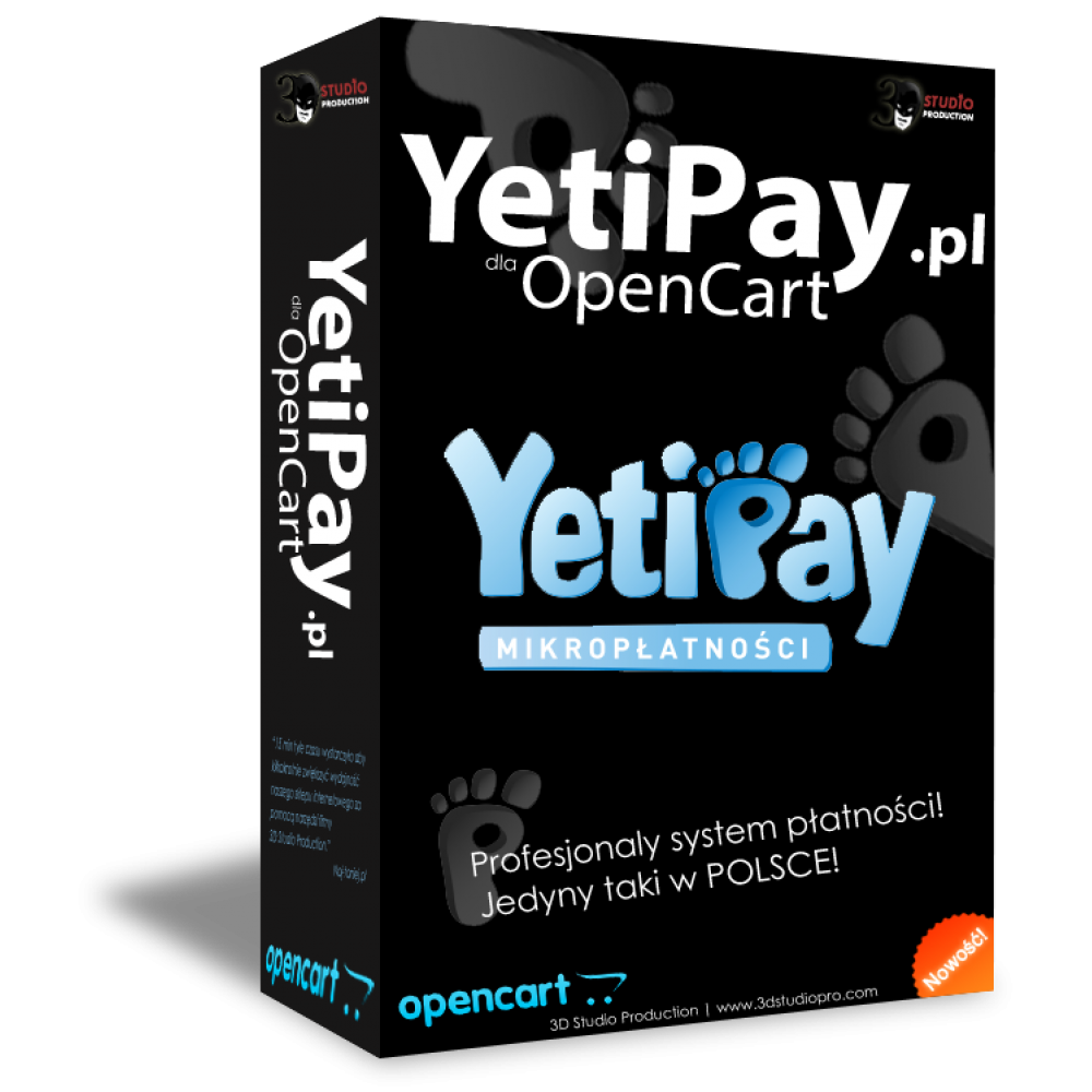 YetiPay dla OpenCart